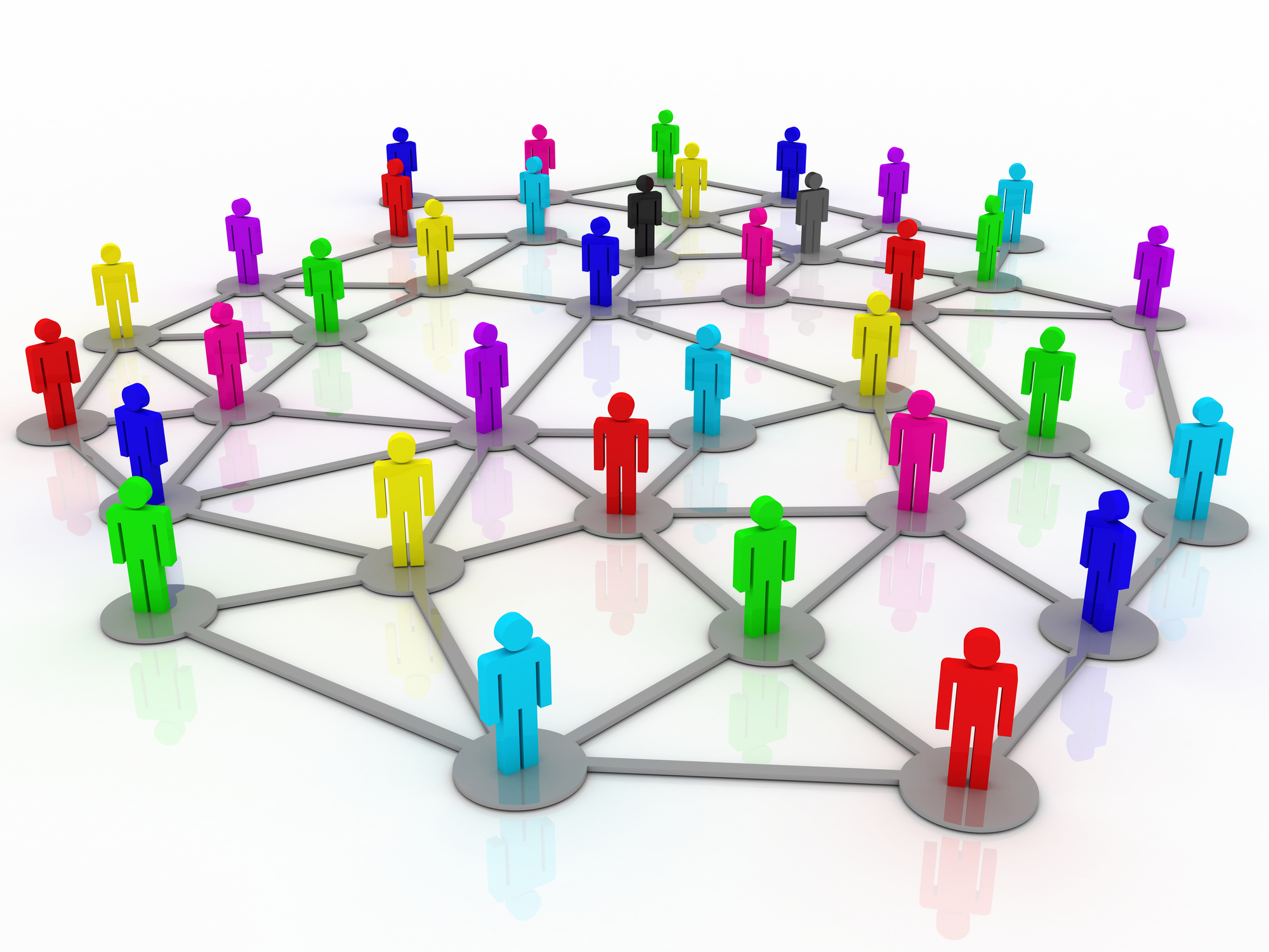 Connected people - Understanding Buying Roles is Key to Selling