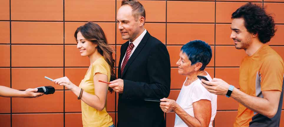Contactless Buying -- Selling Managed Services in a Multigenerational Market
