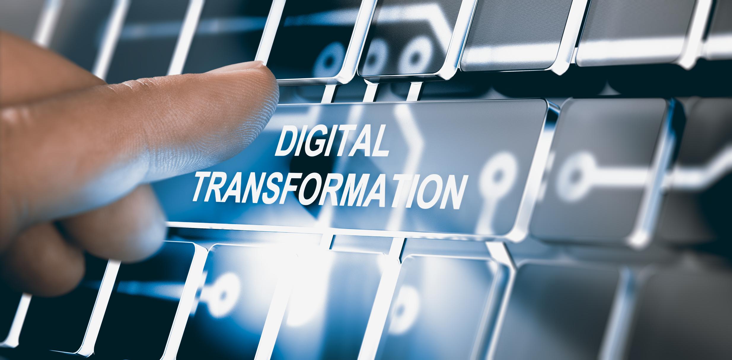 Digital transformation keyboard - Six Signs You Need to Invest in Digital Transformation
