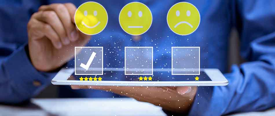 Customer service smiley faces- Improve the Customer Experience through Better Communications